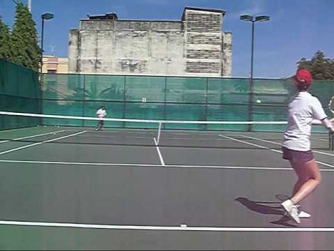 Tennis Lesson:  Dropshot Within the Grain