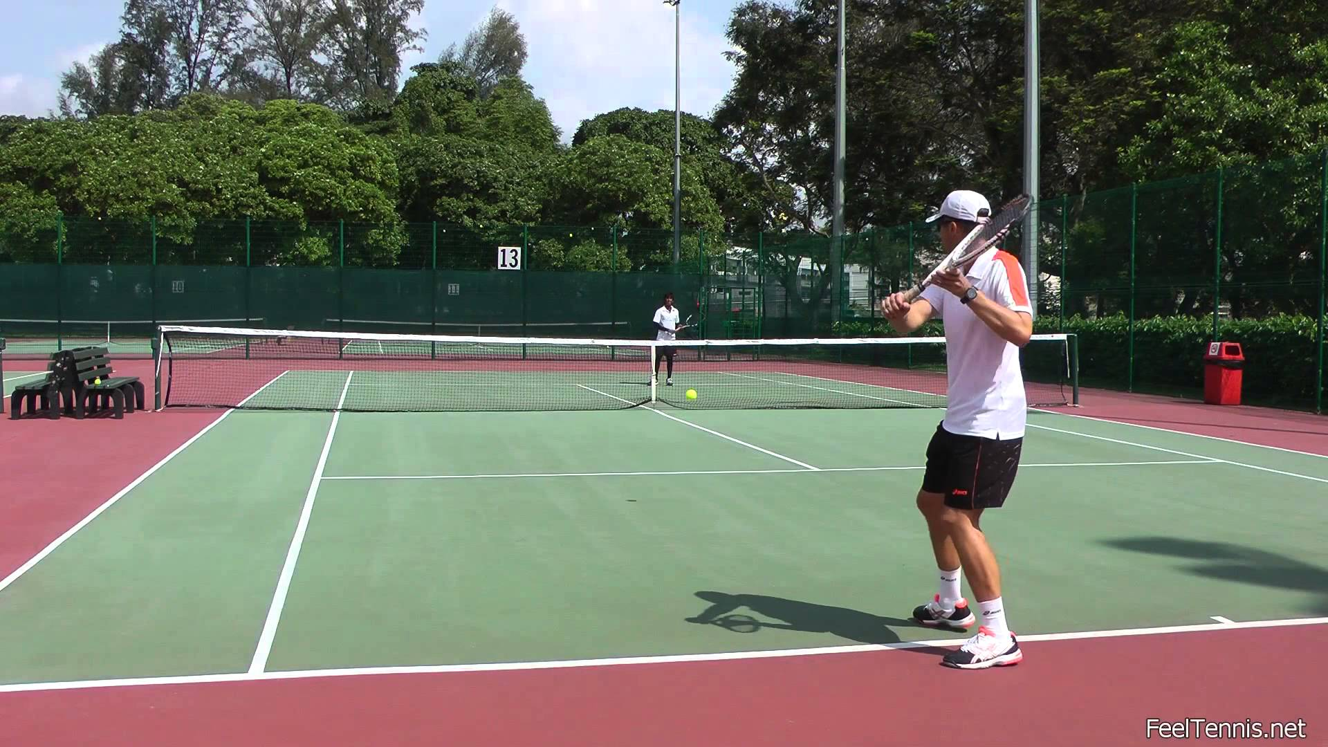 How to Handle High Balls in Tennis (Backhand and Forehand)