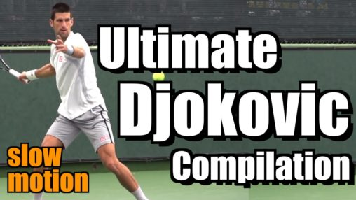 Novak Djokovic Ultimate Slow Motion Compilation - Forehand - Backhand - Serve - 2013 Indian Wells